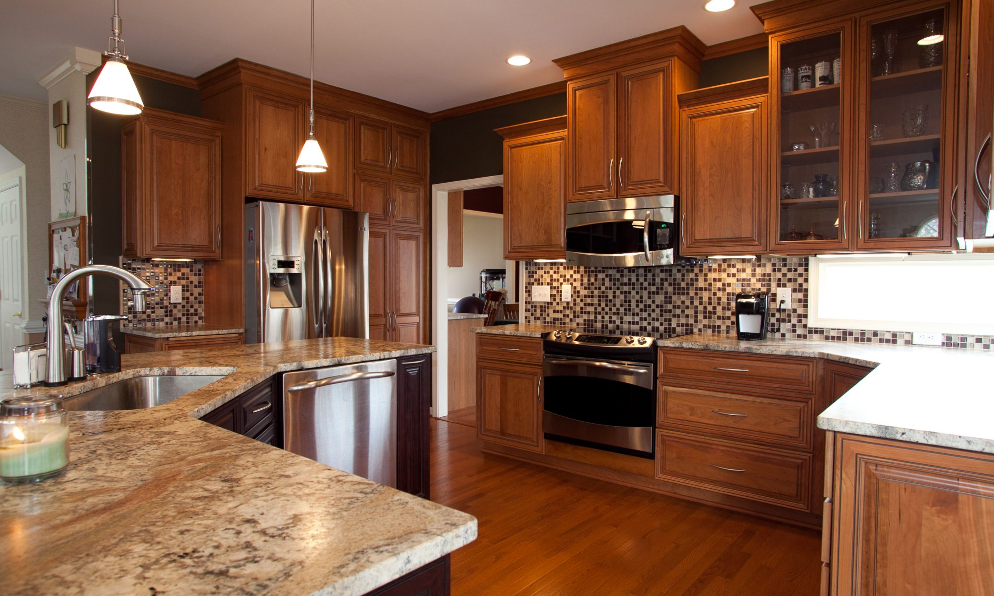 Kitchen remodeling made by KJ